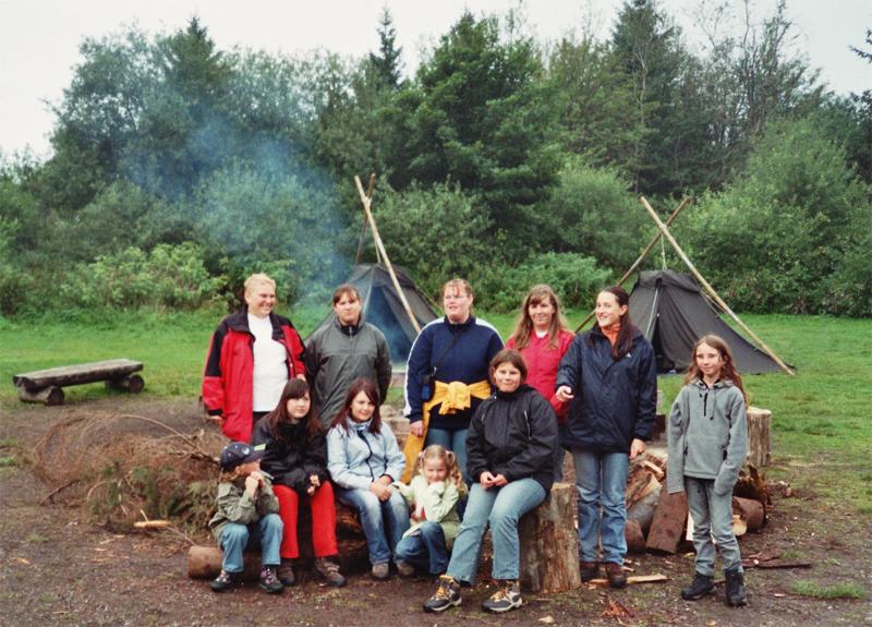 Gruppenbild der Deutschen Wanderjugend
